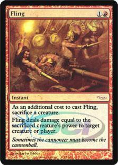 MtG Wizards Play Network Promo Foil Fling