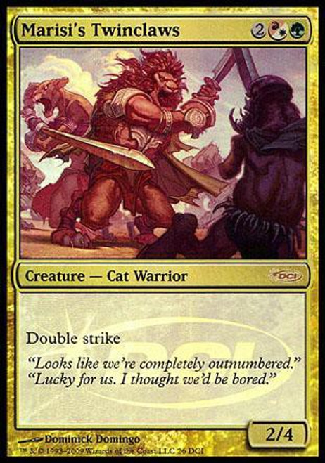 MtG Wizards Play Network Promo Foil Marisi's Twinclaws