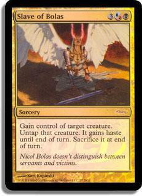 MtG Wizards Play Network Promo Foil Slave of Bolas
