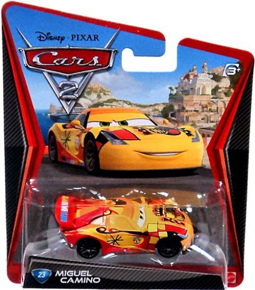 Disney / Pixar Cars Cars 2 Main Series Miguel Camino Diecast Car