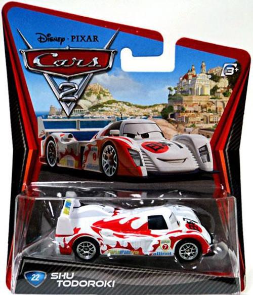 Disney / Pixar Cars Cars 2 Main Series Shu Todoroki Diecast Car