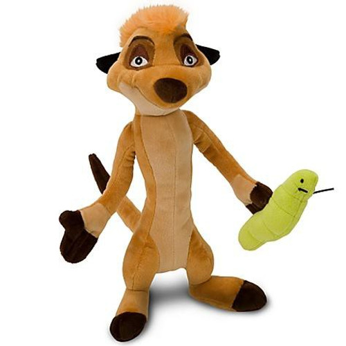 Disney The Lion King Timon Exclusive 12-Inch Plush [With Grub]
