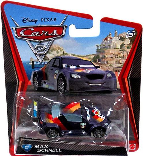 Disney / Pixar Cars Cars 2 Main Series Max Schnell Diecast Car