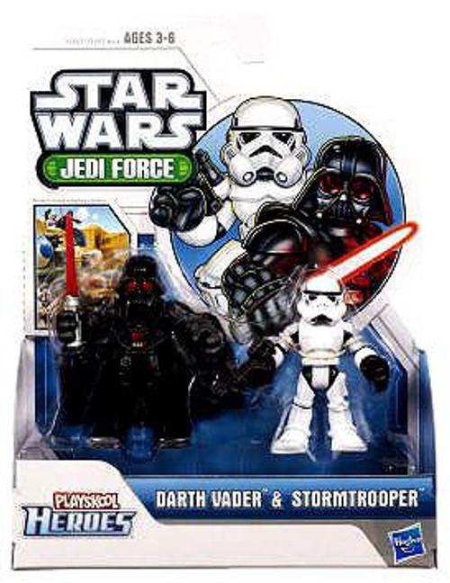 Star Wars Jedi Force Darth Vader & Stormtrooper Mini Figure 2-Pack