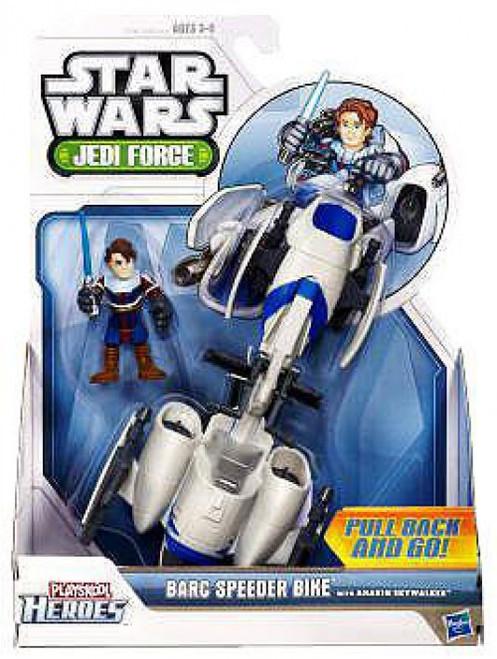 Star Wars Jedi Force BARC Speeder with Anakin Skywalker Mini Figure Set