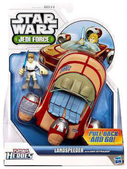 Star Wars Jedi Force Landspeeder with Luke Skywalker Mini Figure Set