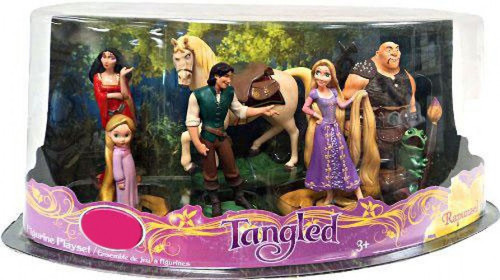 Disney Tangled Exclusive 7-Piece PVC Figure Playset