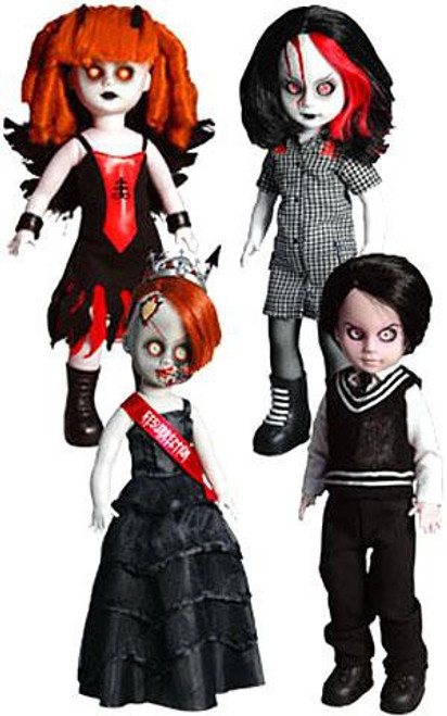 Living Dead Dolls 13th Anniversary Resurrection V Set of 4 Exclusive Dolls