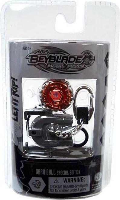 Beyblade Metal Fusion Chrome Series 2 Dark Bull Keychain