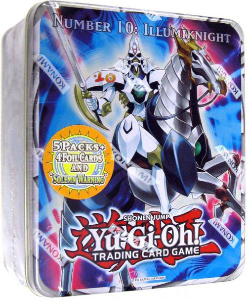 YuGiOh Zexal Trading Card Game 2011 Series 2 Illumiknight Tin Set [5 Booster Packs & 5 Cards!]