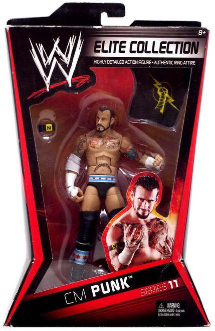WWE Wrestling Elite Collection Series 11 CM Punk Action Figure