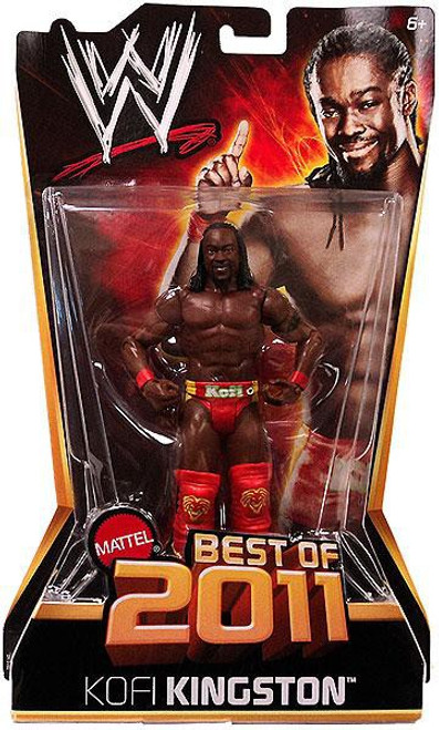 WWE Wrestling Best of 2011 Kofi Kingston Action Figure