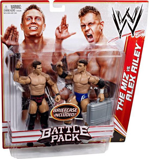 WWE Wrestling Battle Pack Series 13 The Miz vs. Alex Riley Action Figure 2-Pack