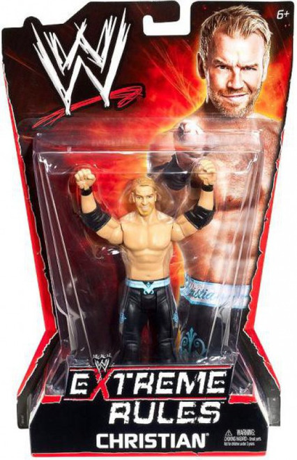 WWE Wrestling Extreme Rules Christian Action Figure