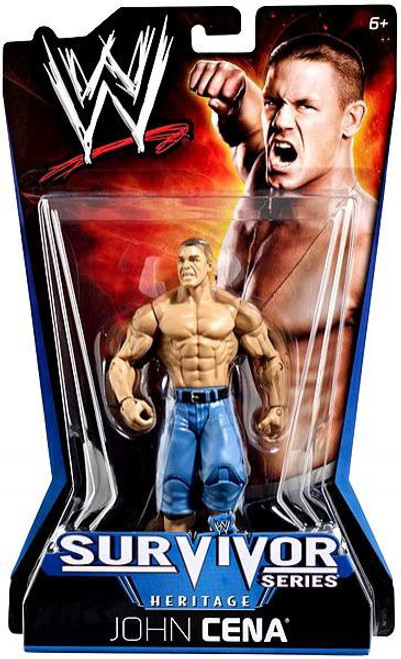 WWE Wrestling Pay Per View Series 11 Survivor Series Heritage John Cena Action Figure