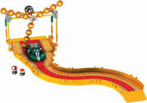 K'NEX Super Mario Mario Kart Wii Luigi vs. Fire Cogs Exclusive Set #38438