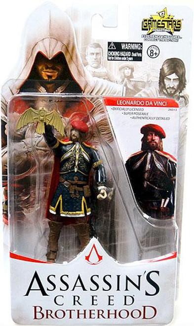 Assassin's Creed Brotherhood Gamestars Leonardo da Vinci Action Figure