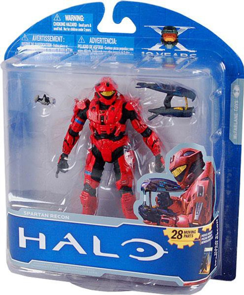 McFarlane Toys Halo 10th Anniversary Series 1 Advance Spartan Recon Exclusive Action Figure [Red]
