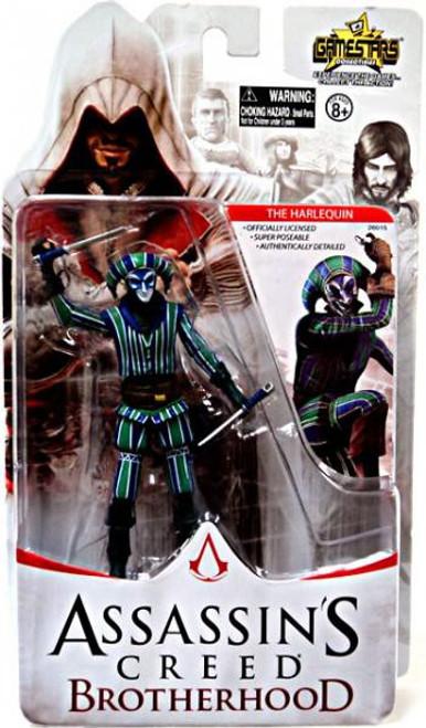 Assassin's Creed Brotherhood Gamestars The Harlequin Action Figure