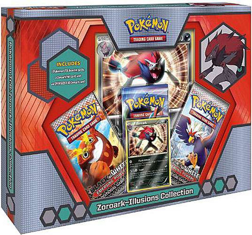 Pokemon Black & White Zoroark Illusions Collection