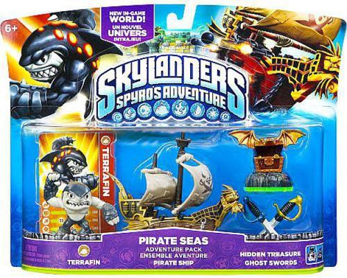 Skylanders Spyro's Adventure Pirate Seas Adventure Pack
