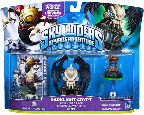 Skylanders Spyro's Adventure Darklight Crypt Adventure Pack [Ghost Roaster, Crypt, Time Twister & Healing Elixir]