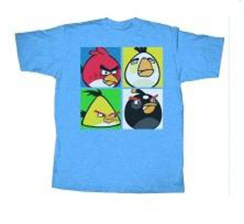 Angry Birds Angry Pop T-Shirt [Adult Small]