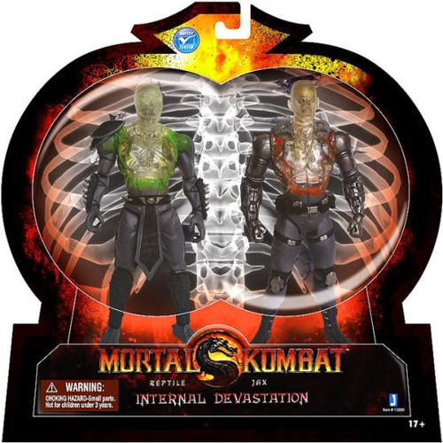 Mortal Kombat X-Ray Internal Devastation Action Figure 2-Pack