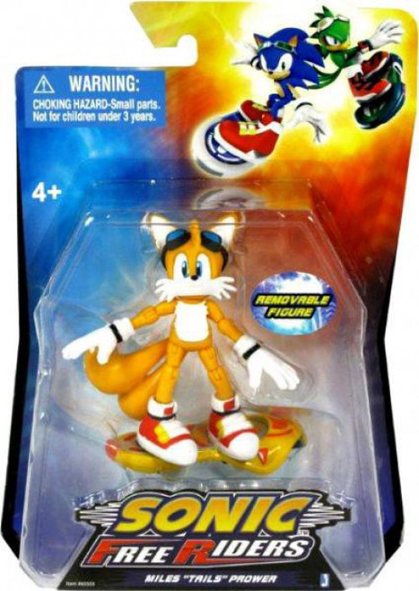 Sonic The Hedgehog Free Riders Tails Action Figure