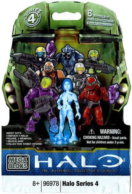 Mega Bloks Halo Series 4 Minifigure Mystery Pack [1 RANDOM Figure]