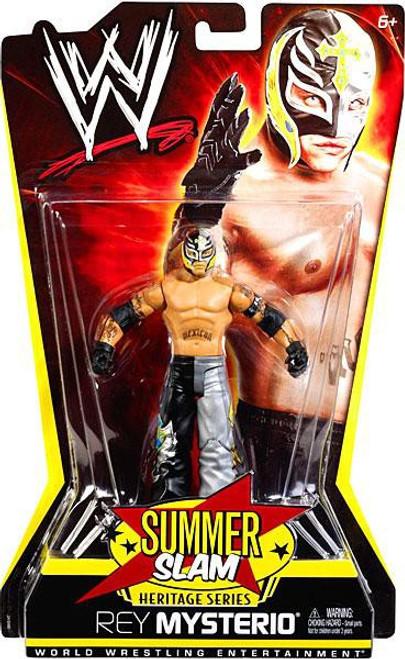 WWE Wrestling Summer Slam Heritage Series Rey Mysterio Action Figure