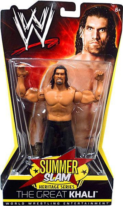 WWE Wrestling Summer Slam Heritage Series The Great Khali Action Figure