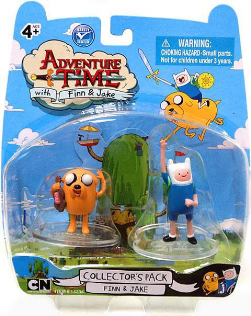 Adventure Time Collector's Pack Finn & Jake 2-Inch Mini Figure 2-Pack