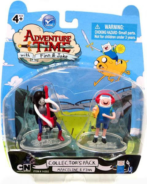 Adventure Time Collector's Pack Marceline & Finn 2-Inch Mini Figure 2-Pack