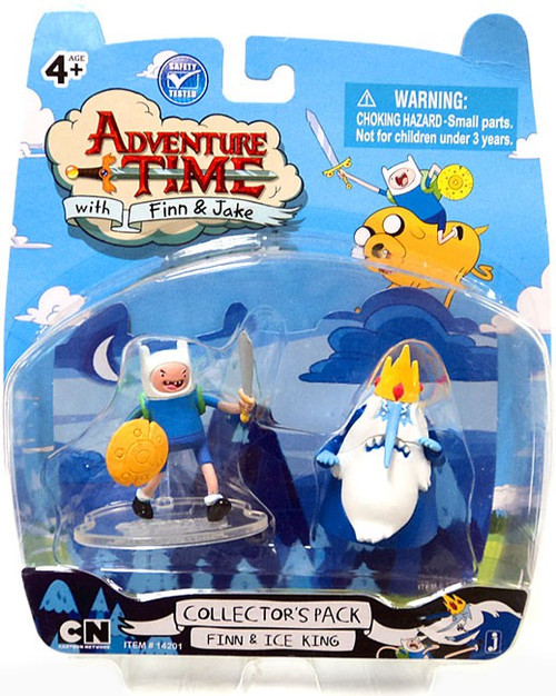 Adventure Time Collector's Pack Finn & Ice King 2-Inch Mini Figure 2-Pack