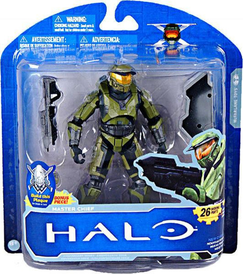 McFarlane Toys Halo 10th Anniversary Series 1 Master Chief Action Figure [Green]