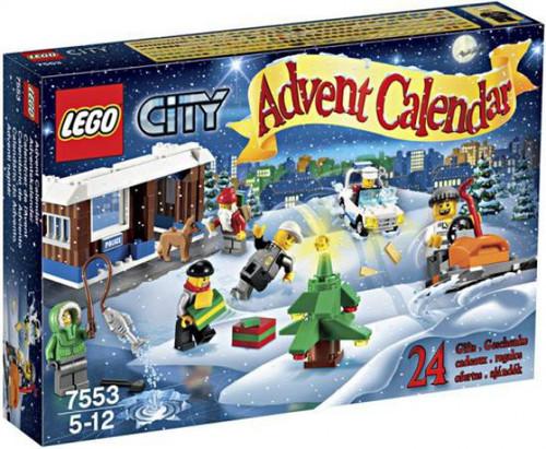 LEGO City 2011 Advent Calendar Set #7553