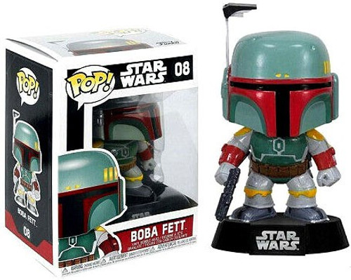 Funko POP! Star Wars Boba Fett Vinyl Bobble Head #08