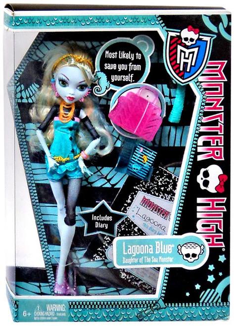 Monster High Lagoona Blue 10.5-Inch Doll