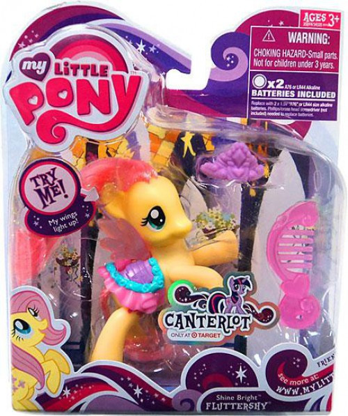 My Little Pony Canterlot Shine Bright Fluttershy Exclusive Figure