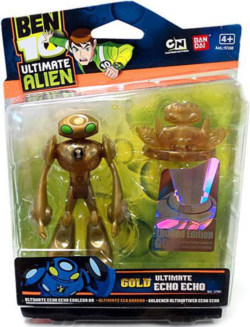 Ben 10 Ultimate Alien Limited Edition Gold Echo Echo Action Figure [Gold]