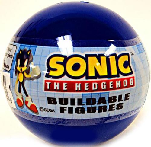 Gacha Buildable Figures Sonic The Hedgehog Mini Figure [Blue Bubble]
