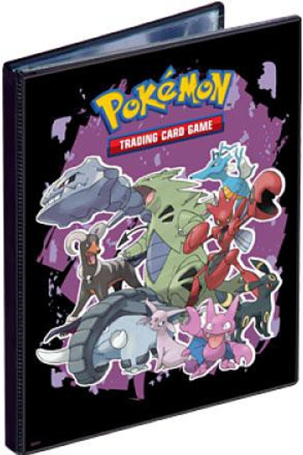Ultra Pro Pokemon Trading Card Game Card Supplies Tyranitar & Friends 4-Pocket Binder [Purple]