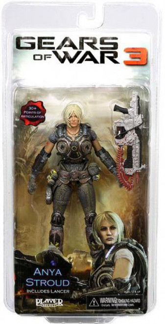 NECA Gears of War 3 Anya Stroud Action Figure [Lancer]