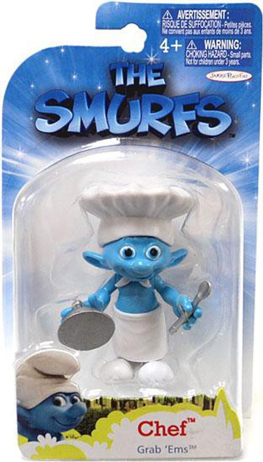 The Smurfs Movie Grab 'Ems Chef Mini Figure