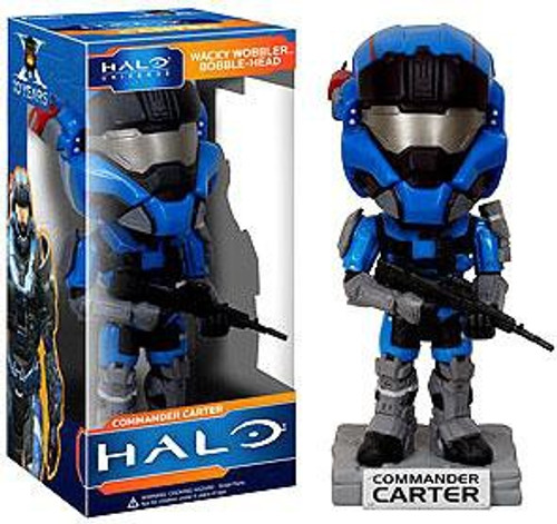 Funko Halo Universe Commander Carter Bobble Head