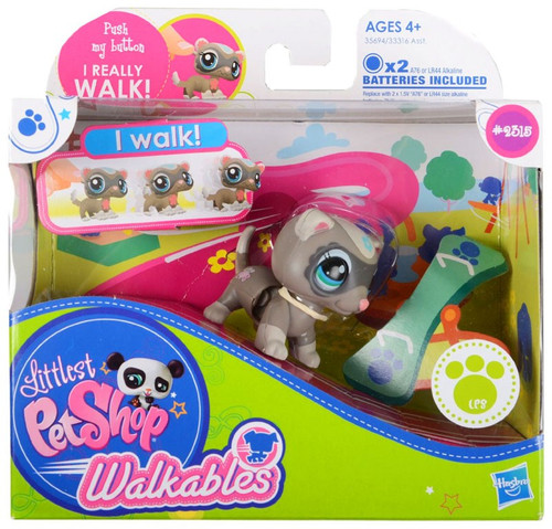 Littlest Pet Shop Walkables Ferret Figure #2318
