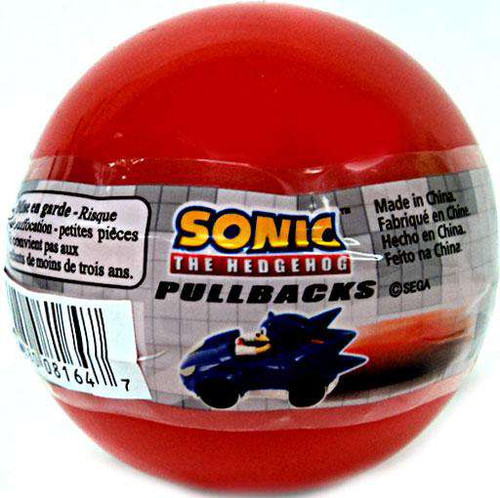 Sonic The Hedgehog Gacha Blind Pack Pull Back Car [Red Bubble]