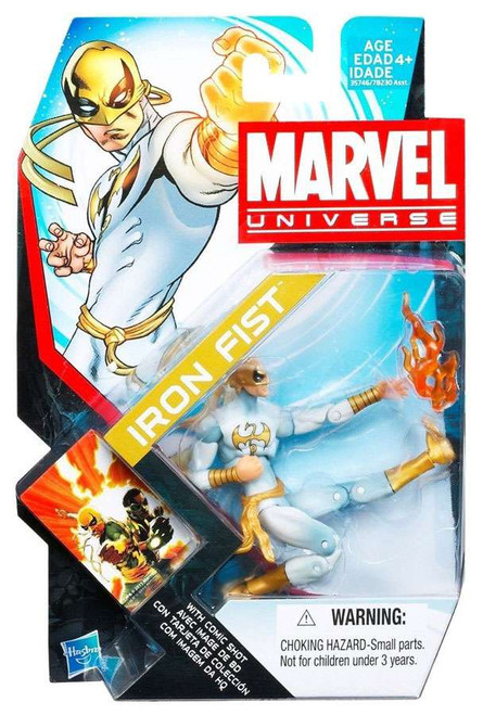 Marvel Universe Series 17 Iron Fist Action Figure #6