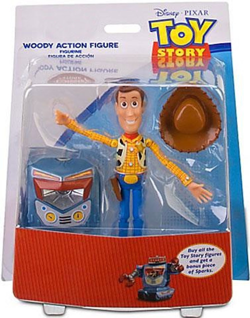 Disney Toy Story Sparks Build a Figure Woody Exclusive Action Figure